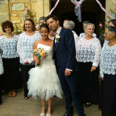 Mariage de Camille et Etienne 18.08.18 à Castelnaud La Chapelle