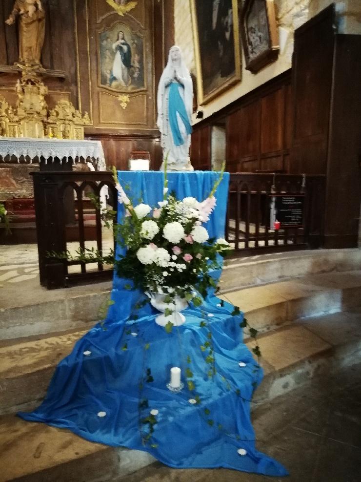 Belle représentation de la Vierge